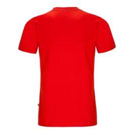 letné turistické tričko červené zajo
